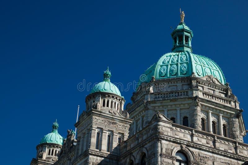 British Columbia Provincial Parliament in Victoria. Canada royalty free stock photos