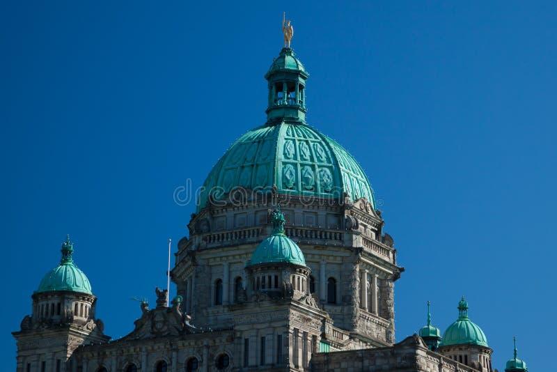 British Columbia Provincial Parliament in Victoria. Canada stock photos