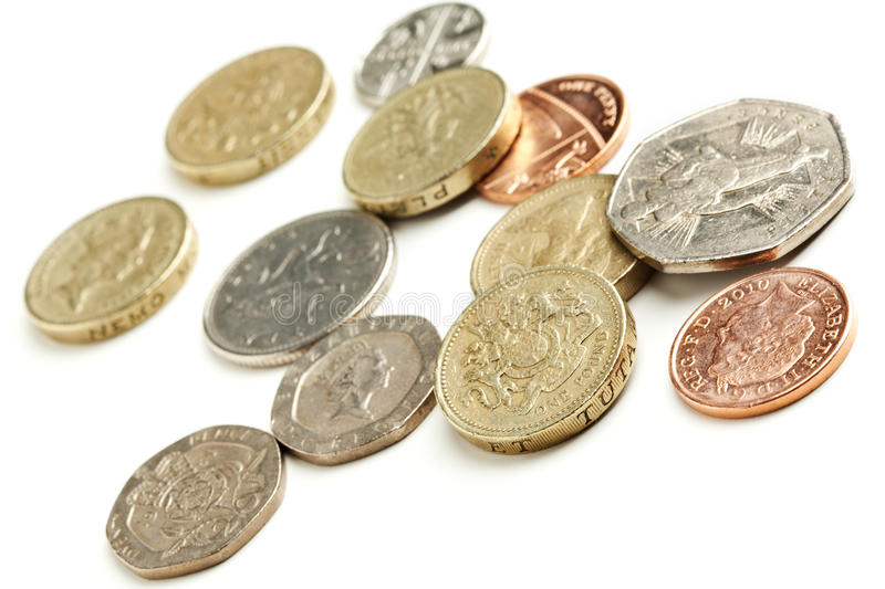 Download British currency coins stock image. Image of britain - 20549547