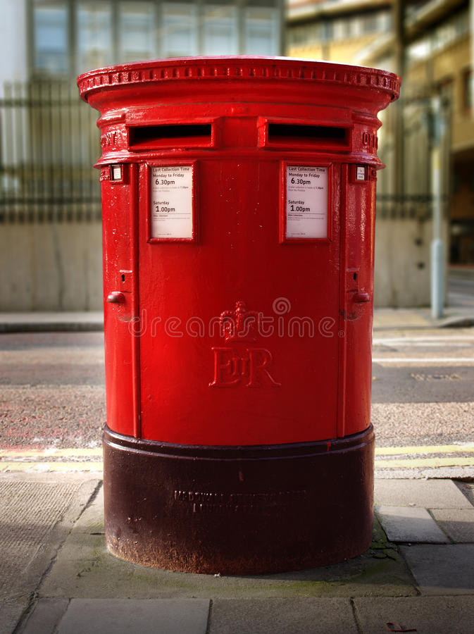 Download British Double Post Office Box Stock Image - Image: 12013033