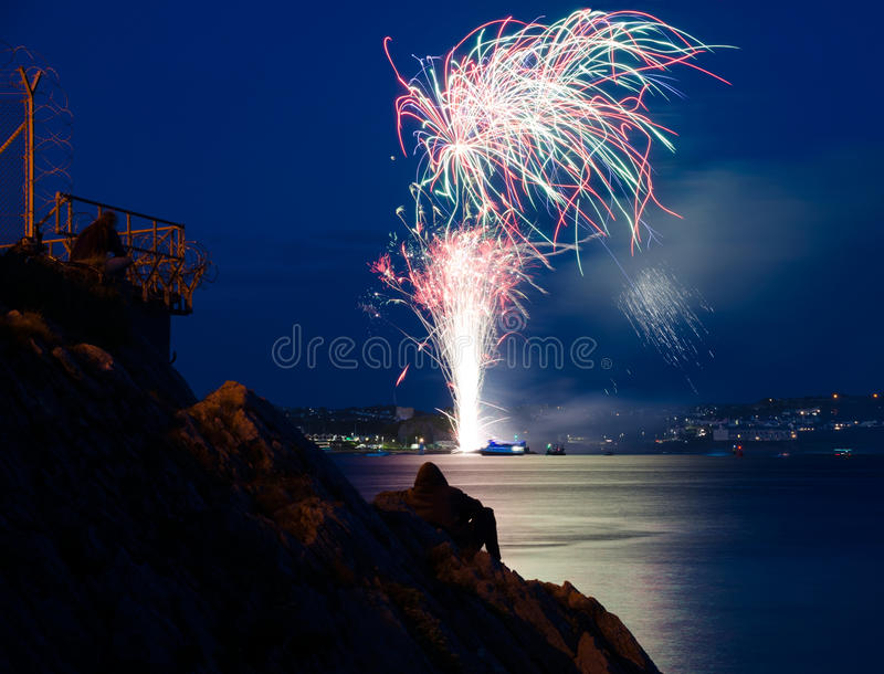 The British Fireworks Championship 2017 stock images