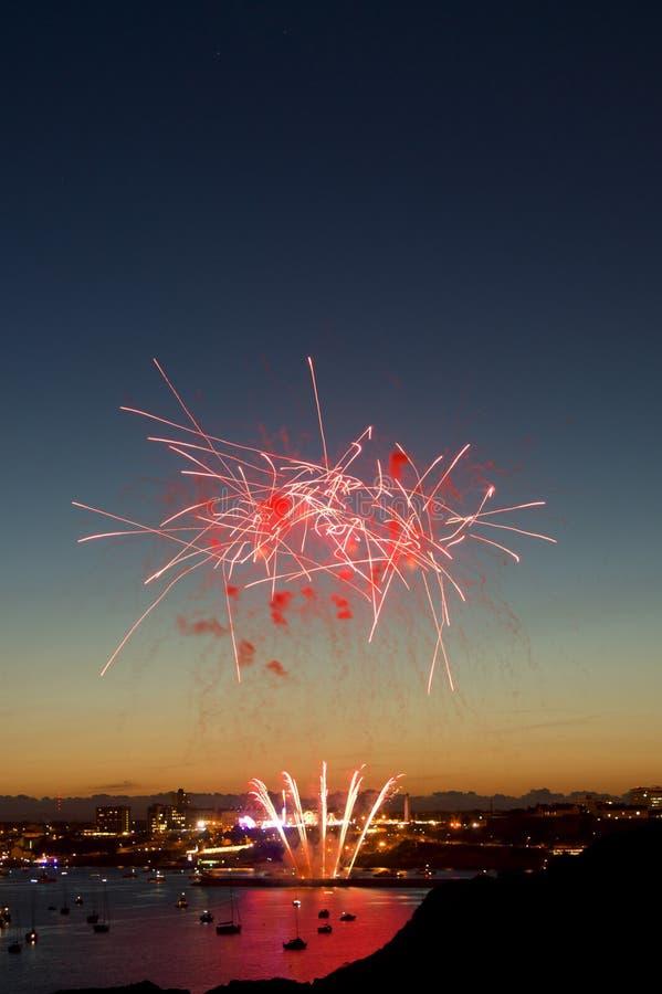 British fireworks championships 2010 stock image