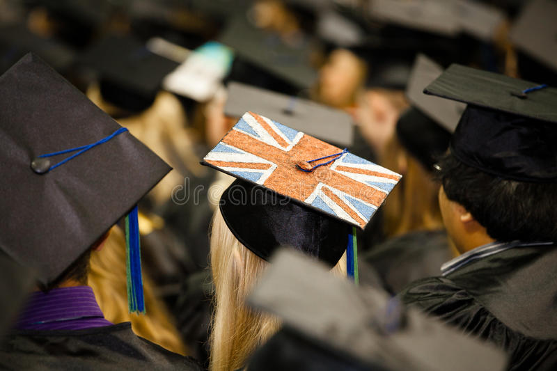 Download British Flag On Graduate's Cap Editorial Photo - Image: 26072326