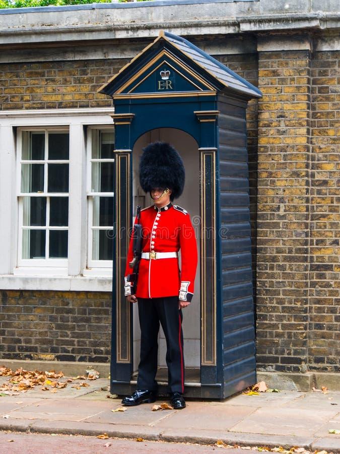 British Guard Editorial Photo