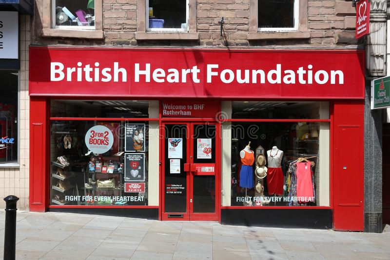 British Heart Foundation stock images