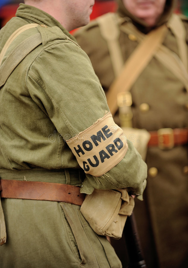 Download British Home Guard soldier stock image. Image of defence - 5052409