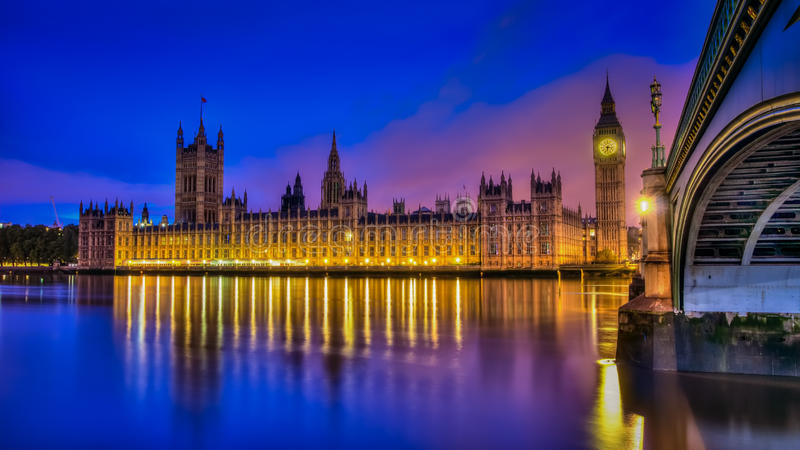 Download British Houses Of Parliament HDR Stock Image - Image: 27541999
