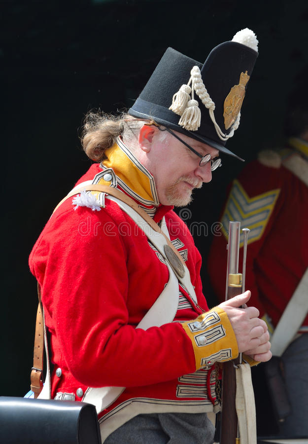 British Infantry of the line. royalty free stock image
