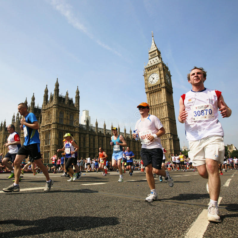2013, British 10km London Marathon stock image