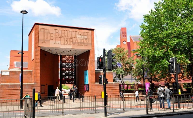 British Library stock photo