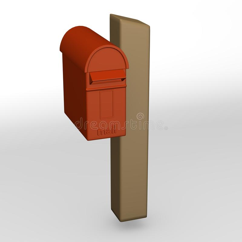 British Mailbox Royalty Free Stock Photography