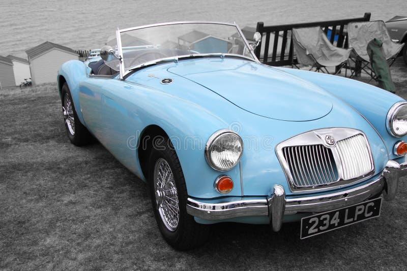 British mg sports car stock image