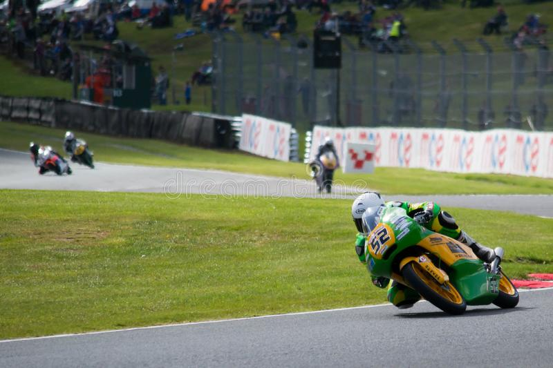 Motorbike Superbike Race royalty free stock photos