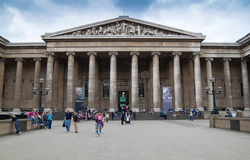 British Museum à Londres photographie stock