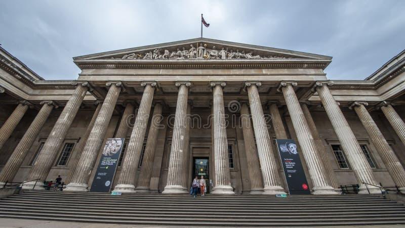 British Museum royalty-vrije stock afbeelding