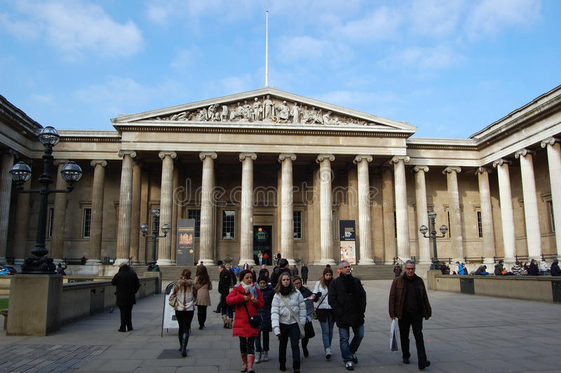 Download British museum editorial stock photo. Image of building - 20944828