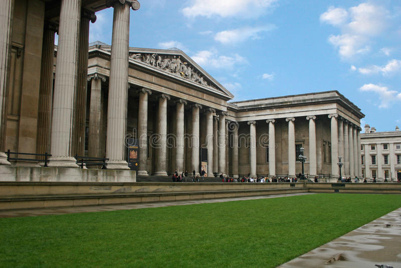 British Museum fotografia de stock royalty free