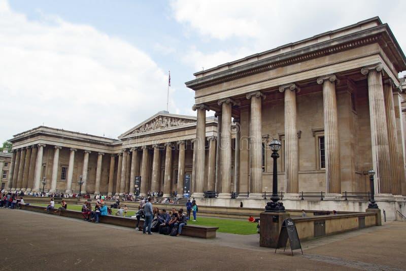 British Museum royalty-vrije stock afbeeldingen