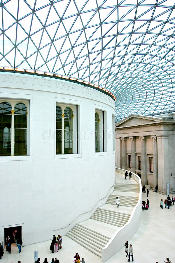 British museum stock photography