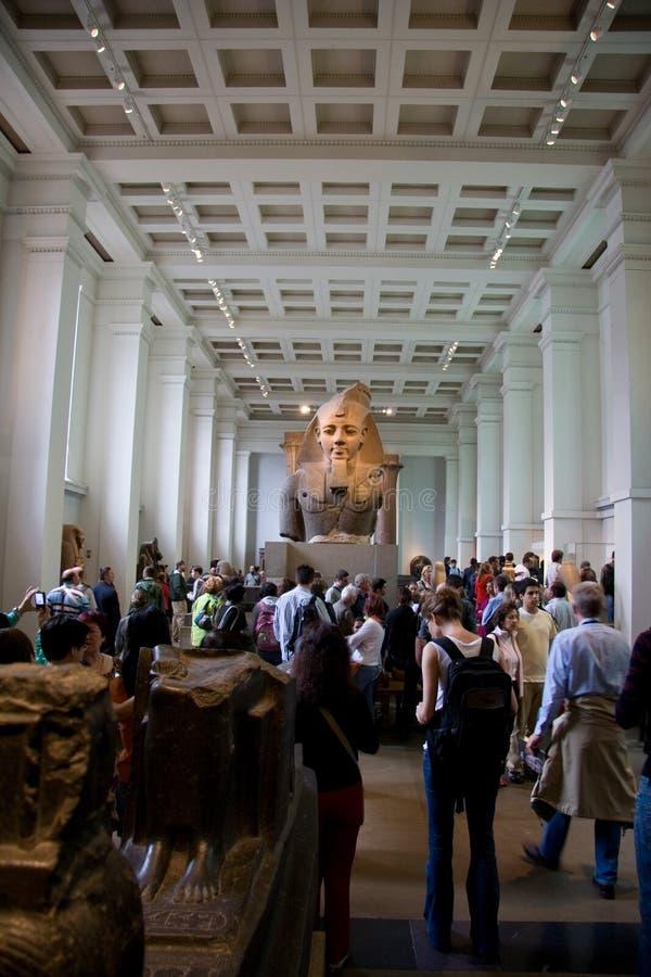 British Museum-Ausstellungen lizenzfreie stockfotos