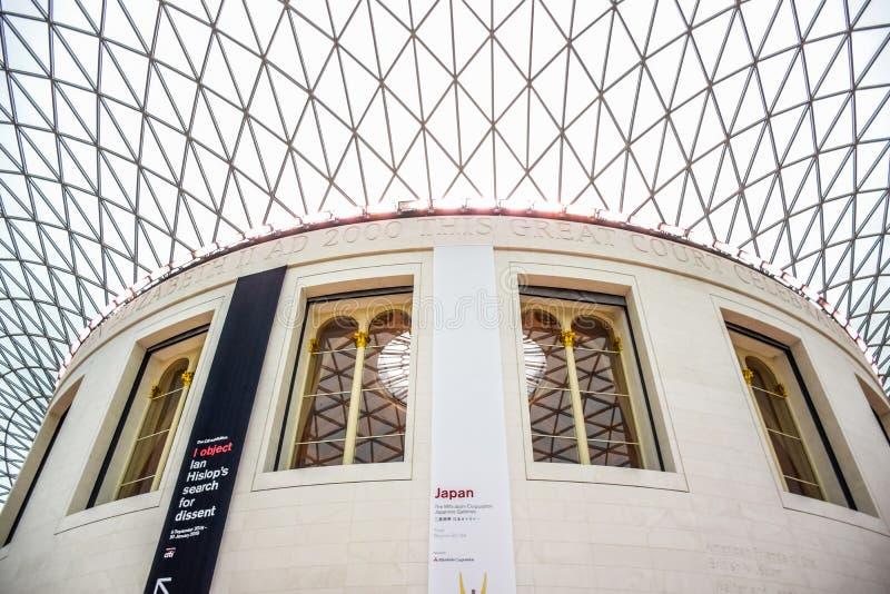 British Museum, een openbare instelling wijdde aan menselijke geschiedenis, kunst en cultuur Londen, het UK stock foto