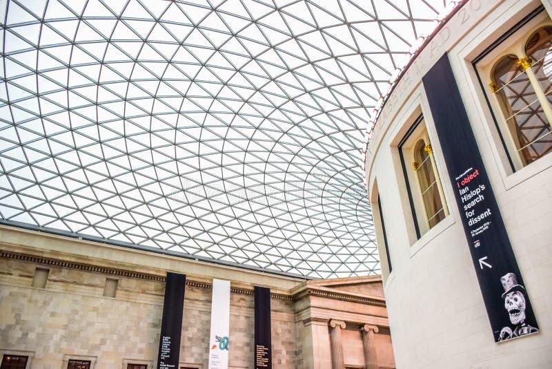 British Museum, een openbare instelling wijdde aan menselijke geschiedenis, kunst en cultuur Londen, het UK stock foto's