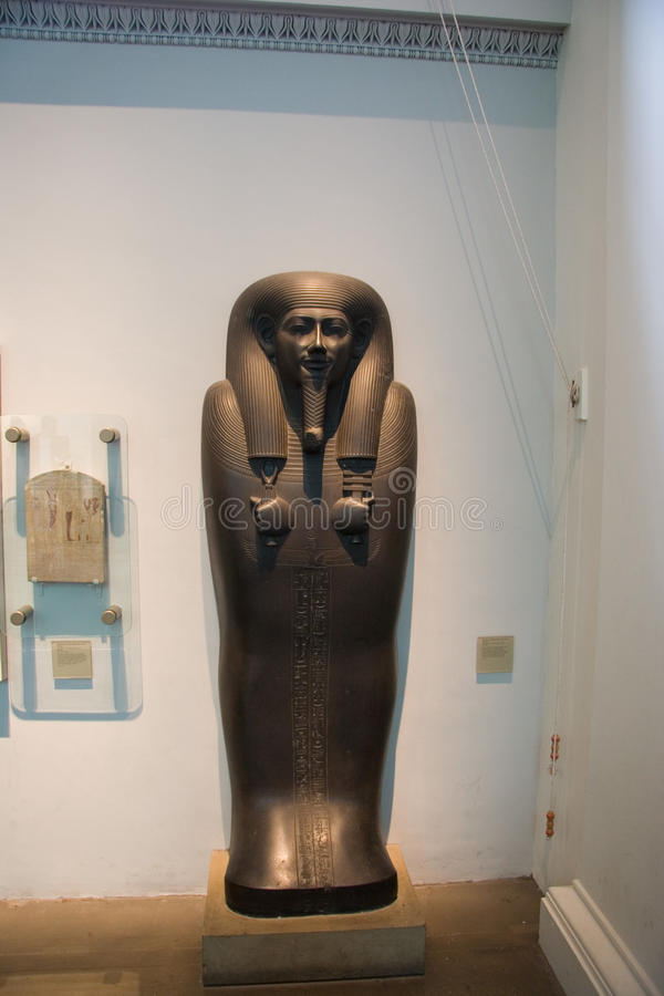 British Museum exhibitions_Egypt lizenzfreie stockfotos