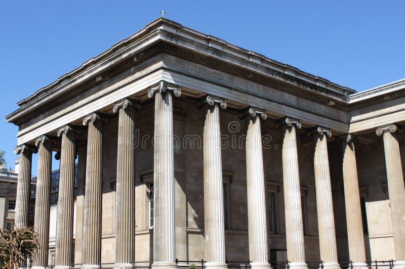 British Museum facade stock photo