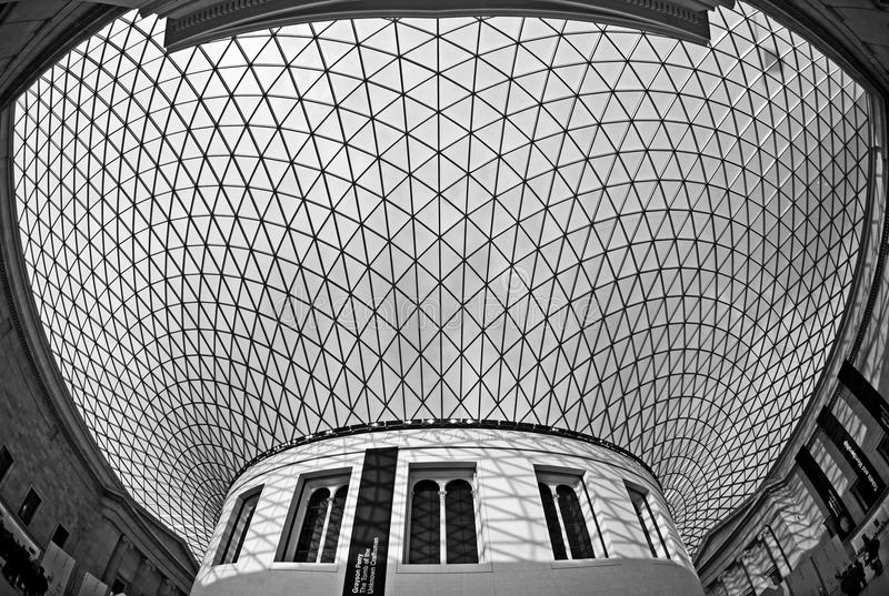 British Museum - The Great Court royalty free stock images