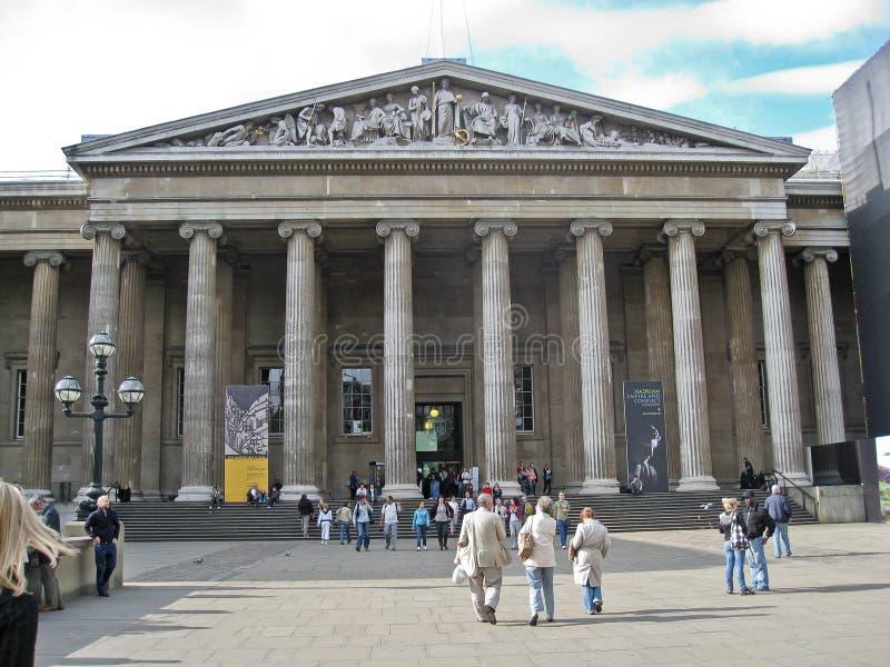 British Museum Londen royalty-vrije stock foto's