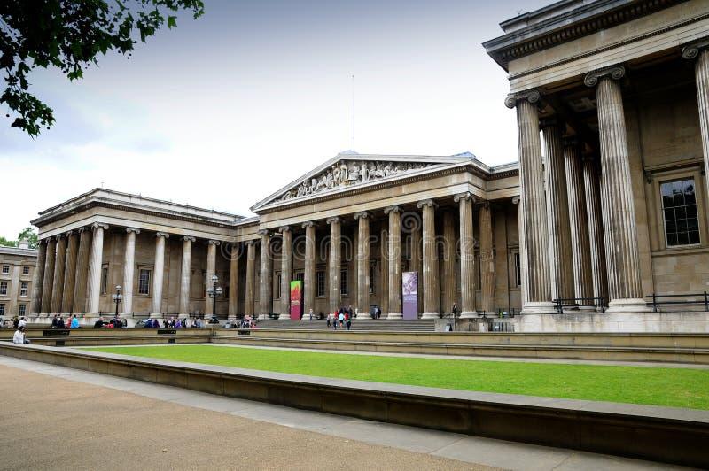 British Museum Londen royalty-vrije stock afbeeldingen