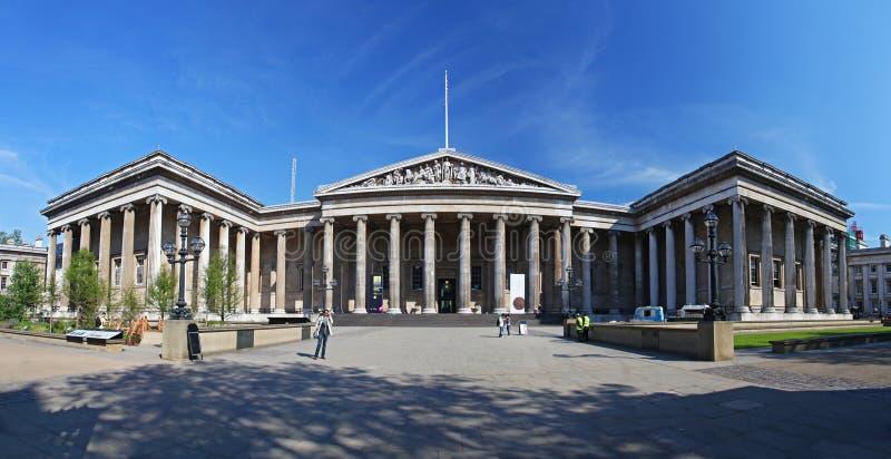 British Museum in Londen royalty-vrije stock foto