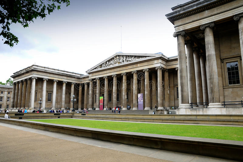 British Museum London Editorial Stock Image