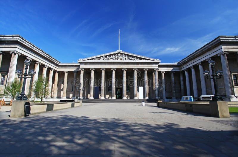 British Museum in London stockfotografie