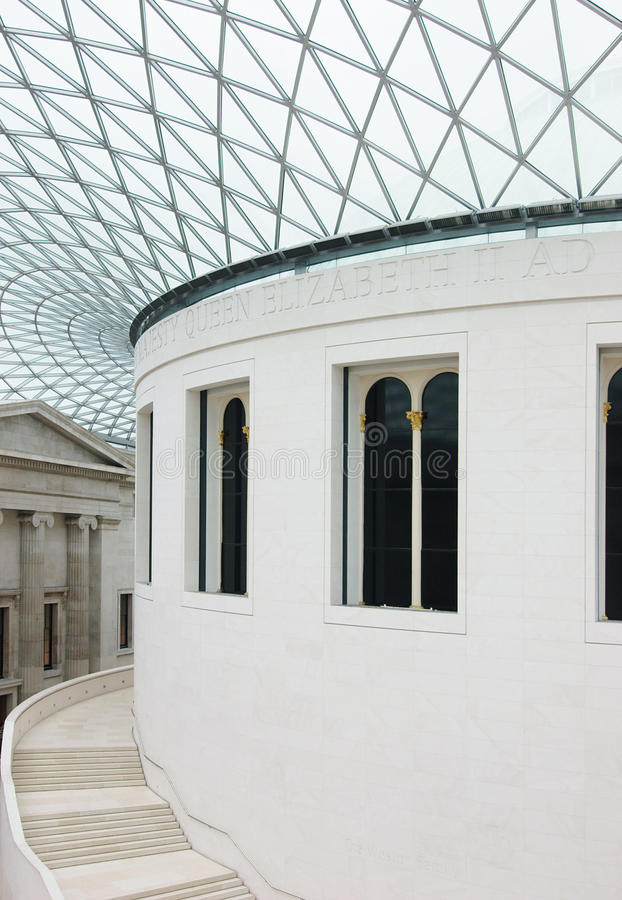Download British Museum in London stock photo. Image of hall, architectural - 25580244