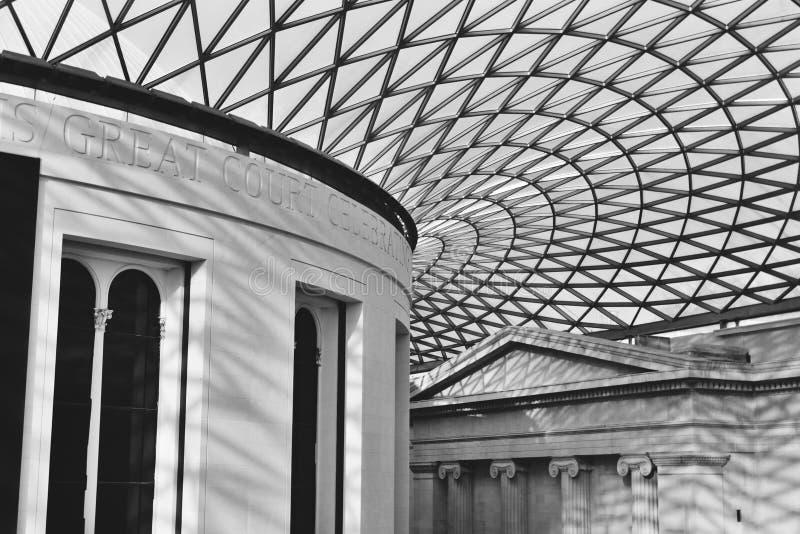 British Museum London lizenzfreie stockfotografie