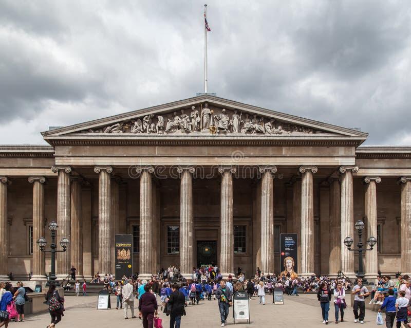 British Museum London England Editorial Photography