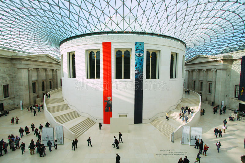 The British Museum In London Editorial Stock Photo