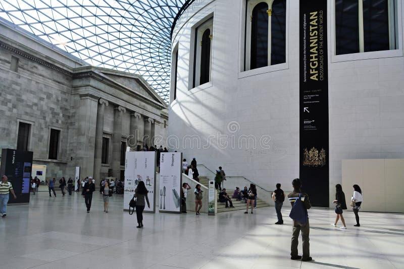 British Museum, London, Vereinigtes Königreich lizenzfreie stockbilder