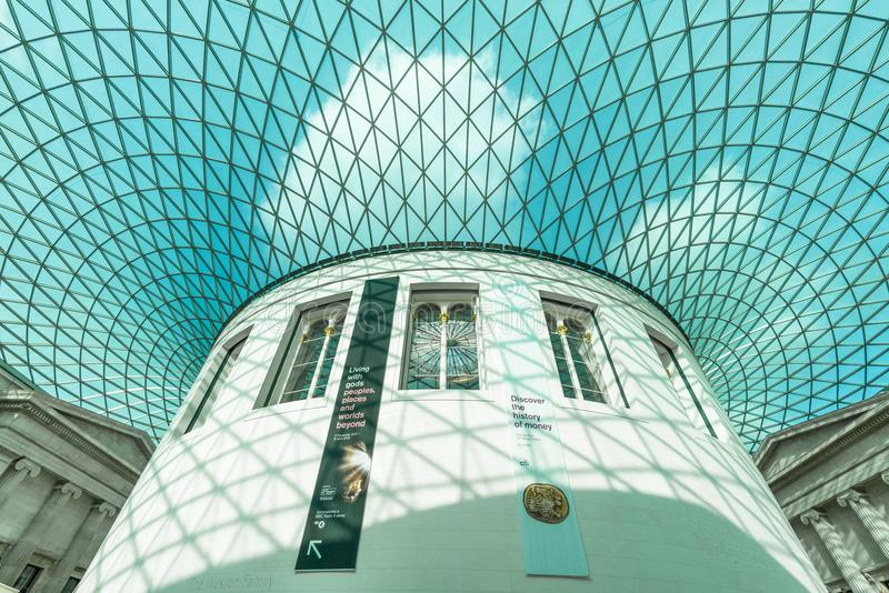 British Museum, Londres photo stock