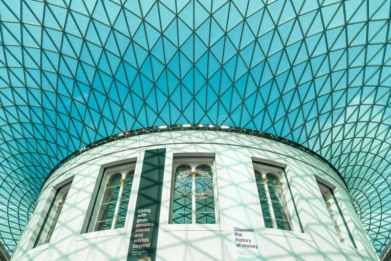 British Museum, Londres photo libre de droits