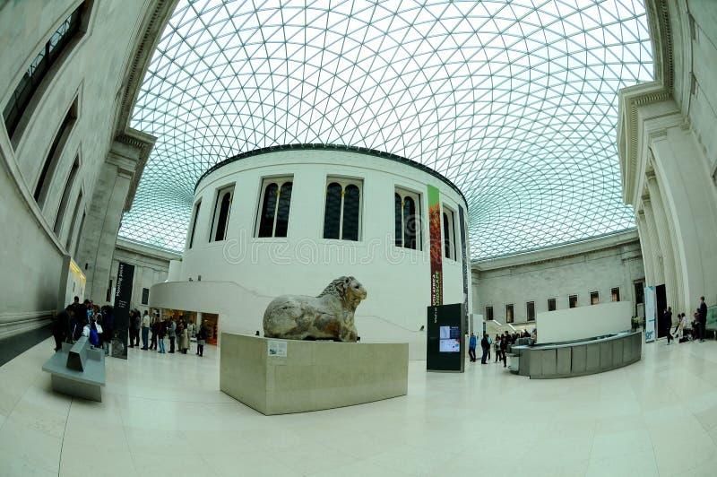 British Museum Londres photographie stock libre de droits