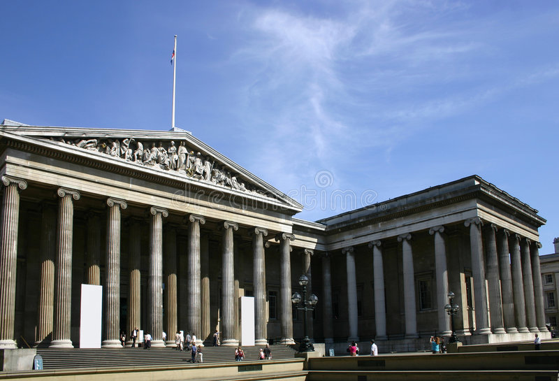 British Museum - Londres - l'Angleterre image stock