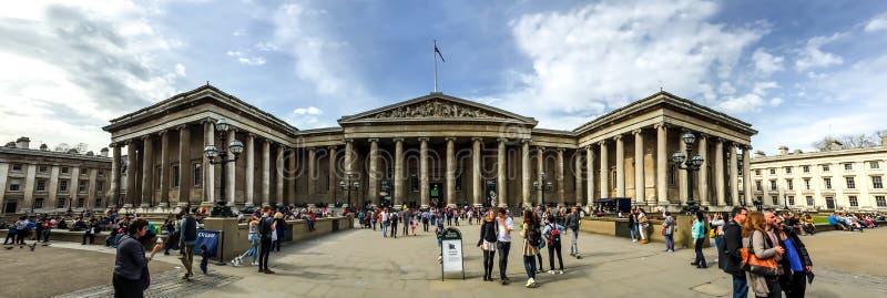 British Museum, Londyn, UK zdjęcia royalty free