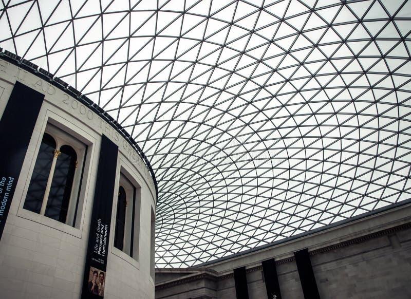 British Museum-Plafond royalty-vrije stock foto