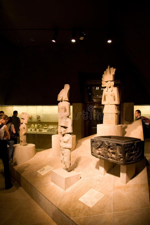 British Museum South America Exhibition Editorial Image