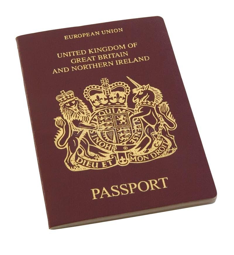 British passport stock photography