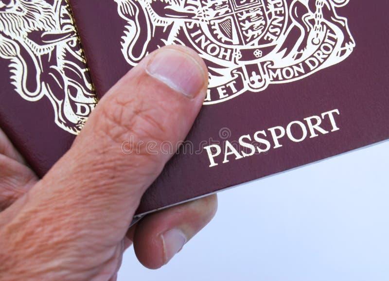 British Passport Free Stock Image