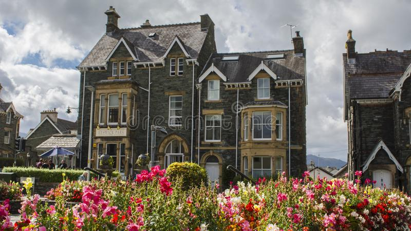 British pastoral scenery royalty free stock image