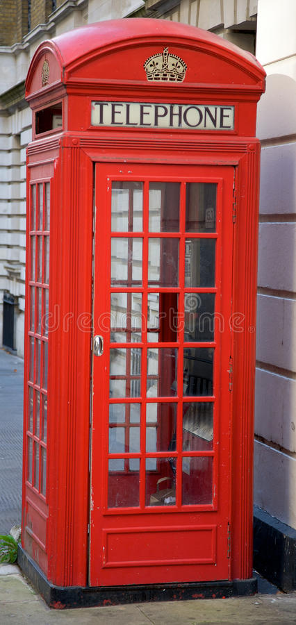 Download British Phone Booth stock photo. Image of icon, public - 11616672